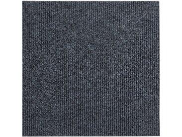 Andiamo ANDIAMO Teppichfliese »Rippe Nadelfilz«, 16 Stück (4 m²), selbstklebend, grau, anthrazit