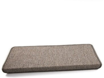 Kubus Stufenmatte »Marina«, Rechteckig, Höhe 4 mm, grau, Graubeige