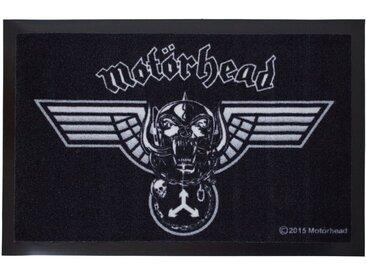 Mr. Ghorbani Fußmatte »Motörhead Winged Warpig 60 x 40 cm«, Rechteckig, Höhe 3 mm