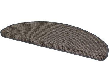 Dekowe Stufenmatte »Mara S2«, stufenförmig, Höhe 5 mm, Obermaterial: 100% Sisal, silberfarben, 1 St., platinfarben
