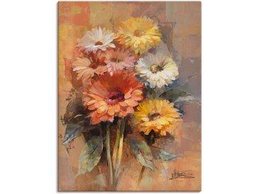 Artland Wandbild »Blumenstrauß II«, Blumen (1 Stück), in vielen Größen & Produktarten -Leinwandbild, Poster