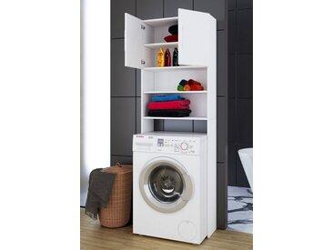 """VCM Hochschrank »Waschmaschinen - Überbauschrank """"Jutas""""«, weiß, Weiß"""