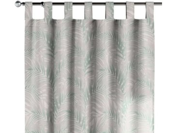 Dekoria Vorhang, weiß-grün