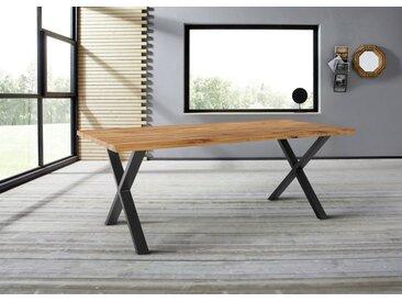 Homexperts Baumkantentisch »Lesley«, Breite 160 oder 200 cm, mit natürlich verlaufender Baumkante