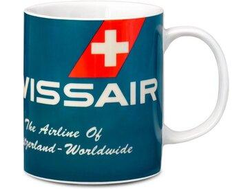 LOGOSHIRT Tasse in coolen Design »Swissair«, rot, rot