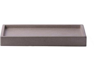 houseproud Dekotablett »Cubic Concrete Kosmetiktablett«