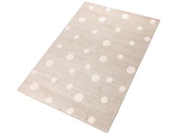 Living Line Teppich »Pünktchen«, rechteckig, Höhe 12 mm, Spielteppich, natur, beige