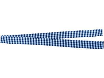 VHG Raffhalter »Resi«, Gardinen, (1-tlg), in Leinenoptik, blau, blau