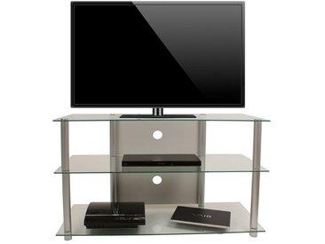 "VCM TV-Rack »Hohes TV-Möbel ""Onata XXL"" Alu / Glas«"