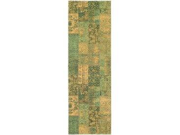OCI DIE TEPPICHMARKE Läufer »Alanis Allover«, rechteckig, Höhe 5 mm, Flachgewebe, grün, grün