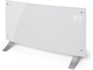 Klarstein Konvektions-Heizgerät Thermostat Timer 2000 W »Bornholm Curved W«, weiß, weiß