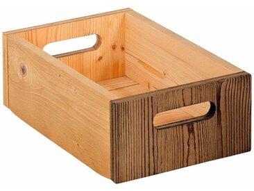Home affaire Aufbewahrungsbox, natur, natur/braun