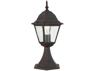 Brilliant Leuchten Newport Außensockelleuchte 41cm rostfarbend, braun, rostfarbend