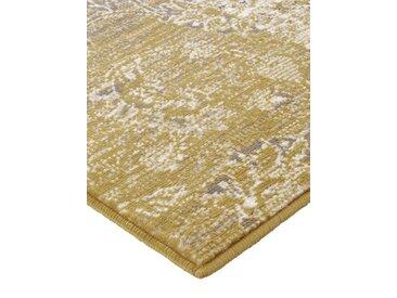 heine home Teppich Patchwork Dessin, gelb, senfgelb