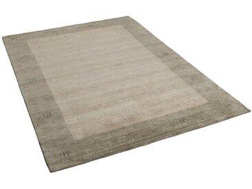 THEKO Wollteppich »Natur Teppich Indo Gabbeh Indira Natur Bordüre«, Rechteckig, Höhe 20 mm