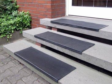 Andiamo Stufenmatte »Gummi«, stufenförmig, Höhe 7 mm, In- und Outdoorgeeignet