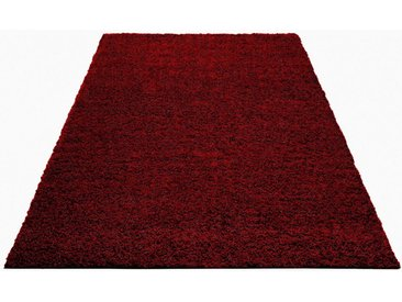 Bruno Banani Hochflor-Teppich »Shaggy Soft«, rechteckig, Höhe 30 mm, gewebt, lila, crimson