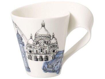 Villeroy & Boch Kaffeebecher Paris »Cities of the World«, blau, 300,00 ml, blau
