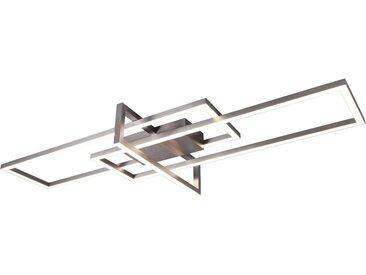my home LED Deckenleuchte »LED Deckenleuchte ALICA«, Switch Dimmer, grau, nickelfarben