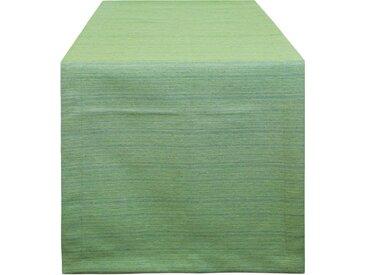 HOSSNER - HOMECOLLECTION Tischläufer »3267 Amalia« (1-tlg), grün, grün