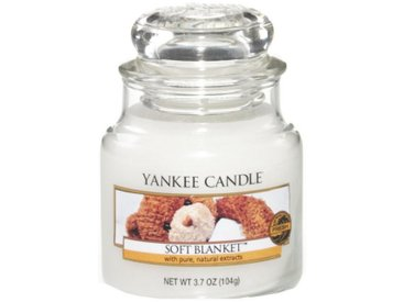 Yankee Candle Duftkerze »Classic Housewarmer Klein Soft Blanket«