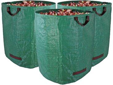 BigDean Gartenbox »Gartenabfallsack XXL−Set 272L groß« (3 Stück), 3 St.