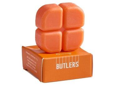 BUTLERS Duftlampe » SMELTS 12x Duftwachschips Vanille«, orange, Orange