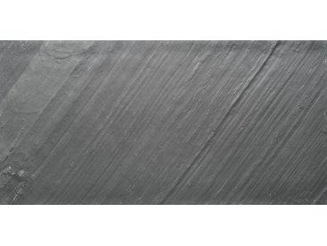Slate Lite SLATE LITE Dekorpaneele »EcoStone D-Black 45°«, ES 122x61cm, schwarz, anthrazit/schwarz