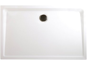 Schulte Duschwanne, rechteckig, Mineralguss, extra flach, 90 x 120 cm