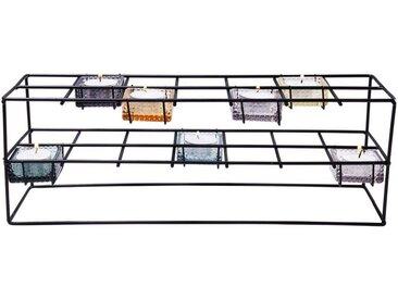KARE Kerzenständer »Teelichthalter Oslo Rectangular Sette«