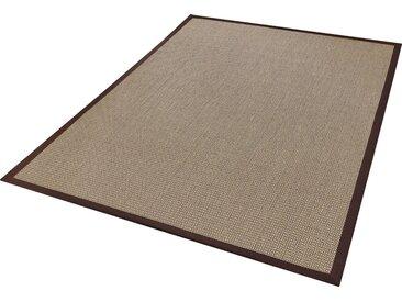 Dekowe Sisalteppich »Brasil«, rechteckig, Höhe 6 mm, Flachgewebe, Obermaterial: 100% Sisal, braun, braun
