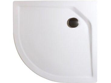 Schulte Duschwanne »extra-flach«, rund, Acryl, Set, rund, BxT: 80 x 80 cm