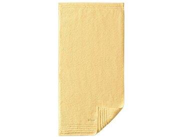 Vossen Handtuch, gelb, gelb