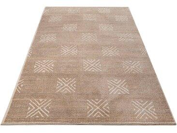Home affaire Teppich »Verena«, rechteckig, Höhe 14 mm, Berber-Optik, natur, sand