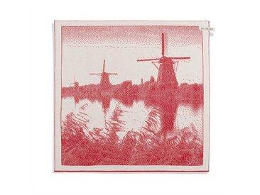 Knit Factory Tischdecke »Küchentuch Mühle Ecru/Rot«