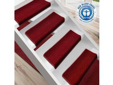 Floordirekt Stufenmatte »Dynasty 1A«, Rechteckig, Höhe 8,5 mm, lila, Beere
