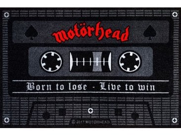 "Rockbites Fußmatte » - Fußmatte ""Motörhead Tape"" Schwarz Türmatte Nr.131 (100967)«"
