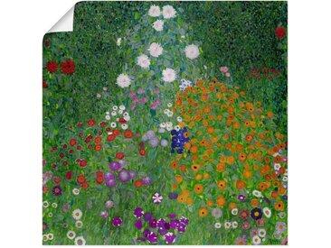 Artland Wandbild »Bauerngarten. 1905-07«, Blumenwiese (1 Stück), Poster