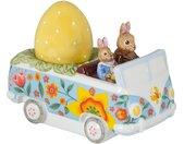 Villeroy & Boch Bunny Tales Deko-Figur Bus »Bunny Tales«, 14x7,5x10,5cm, gelb,bunt