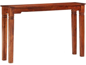 vidaXL Beistelltisch » Konsolentisch 120 x 30 x 76 cm Akazie Massivholz«
