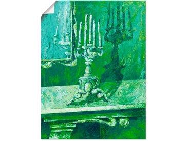 Artland Wandbild »Barocker Leuchter«, Innenarchitektur (1 Stück), in vielen Größen & Produktarten - Alubild / Outdoorbild für den Außenbereich, Leinwandbild, Poster