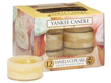 Yankee Candle Duftkerze »Vanilla Cupcake 12er Pack Teelichter«