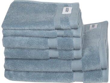 SCHÖNER WOHNEN-Kollektion Handtuch Set »Cuddly Set« (Set, 6-tlg), in unterschiedlichen Farben, blau, 6 tlg., hellblau