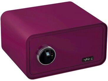 BASI Tresor »mySafe 430«, mit Fingerabdruck, lila, lila