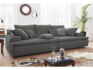 Nova Via Big-Sofa, grau, ohne Beleuchtung, anthrazit