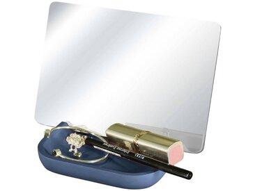 Kleine Wolke Kosmetikspiegel »Tray Mirror«, rutschsicher, blau, blau