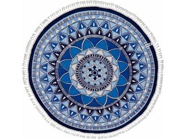 Seahorse Strandtuch »Tara« (1-St), mit Mandalamuster, blau, blau