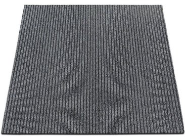 casa pura Teppichfliese »Bohemia«, Quadratisch, Höhe 6 mm, Selbstliegend, grau, Grau 03