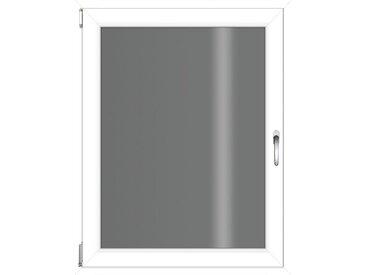 RORO Türen & Fenster RORO TÜREN & FENSTER Kunststoff-Fenster BxH: 80x120 cm, ohne Griff, weiß, links, weiß
