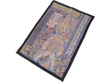 Guru-Shop Wandteppich »Indischer Wandteppich Patchwork..«, Höhe 65 mm, Muster 16